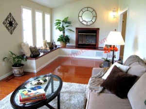 Nội thất cho phòng khách dài và hẹp