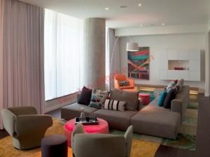 Trang trí phòng khách dài và hẹp