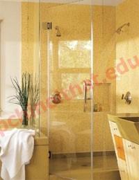Giải pháp cho phòng tắm với màu sáng
