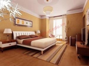Giường phòng ngủ hợp phong thủy