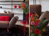 Thiết kế sofa này có thể điều chỉnh linh hoạt nhờ đó phần ghế ngồi có thể điều chỉnh từ 3 chỗ thành 5 chỗ ngồi.