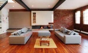 Sàn gỗ mang lại cho ngôi nhà bạn một không gian thông thoáng, mát mẻ.