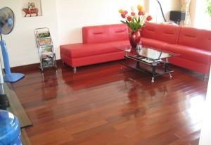 Sàn gỗ được nhiều gia đình tin dùng
