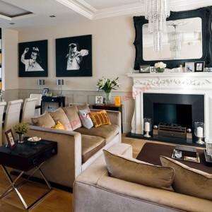Thiết kế phòng khách đậm nét cá tính
