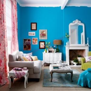 Màu sắc tươi sáng mới mẻ cho phòng khách đẹp