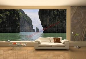 Trang trí phòng khách ấn tượng với những bức tranh tĩnh vật