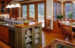 Không gian bếp mở là xu hướng thời thượng trong các thiết kế hiện nay