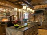 Sự thống nhất giữa nhà bếp và phòng khách cũng là một ý tưởng tốt khiến căn nhà sẽ rộng rãi hơn.