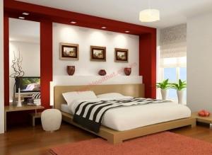 Phòng ngủ là nơi nghỉ ngơi, thư giãn, vì thế trong phòng ngủ không nên chứa quá nhều đồ.