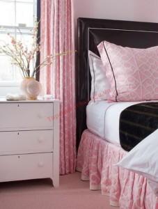 Màu sắc tinh tế cho phòng ngủ trở nên lãng mạn hơn