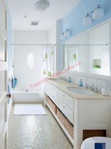 Phòng tắm hiện đại theo phong thủy