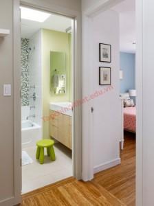 Thiết kế phòng tắm hiện đại nhưng vẫn hợp phong thủy