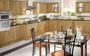 Nhà bếp sạch sẽ, ngăn nắp sê xua tan năng lượng âm độc hại.