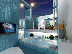 Phòng tắm lấy cảm hứng từ đại dương
