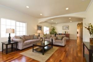 Thiết kế sàn nhà phòng khách