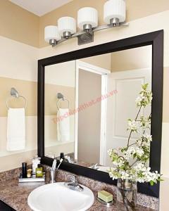 Điểm nhấn tinh tế cho phòng tắm thêm đẹp