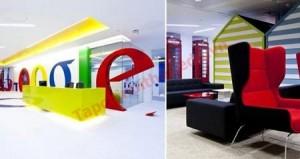 Thiết kế văn phòng làm việc theo văn phòng của Google