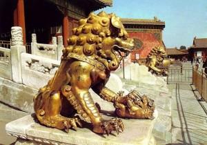 Trấn yểm sư tử theo phong thủy
