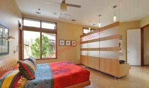 Phòng ngủ hiện đại với thiết kế đơn giản