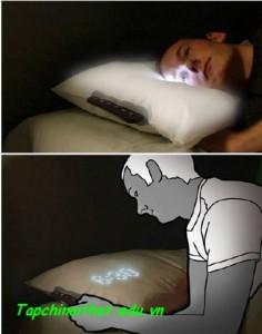 Gối siêu độc đáo cho giấc ngủ thăng hoa