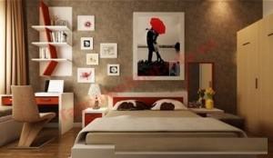 Phòng ngủ mang phong cách phòng khách sạn