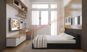Thiết kế phòng ngủ đẹp đơn giản nhưng cá tính