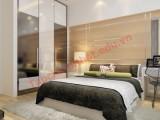Thiết kế phòng ngủ nhẹ nhàng tinh tế