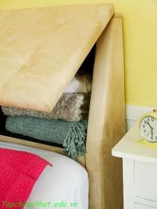 Giải pháp lưu trữ thông minh cho phòng ngủ nhỏ