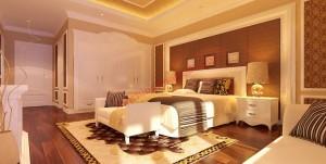 Ánh sáng phòng ngủ thêm đẹp