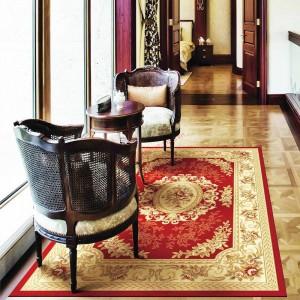 Chọn hoa văn thảm trải phòng khách nên xem màu phong thủy để mang lại sự thịnh vượng cho chủ nhà