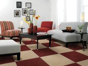 Chọn hoa văn cho thảm nhà phòng khách đẹp