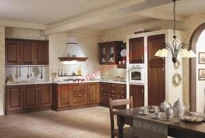 Khi chọn vị trí đặt bếp nên lưu ý không đặt ở vị trí trực xung với cửa bếp