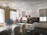 Phòng bếp với màu sắc hài hòa
