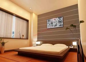 Phòng ngủ chọn kích thước phong thủy sẽ mang lại sự hài hòa giữa con người và không gian, tạo nên sự cân bằng, tài lộc cho gia chủ.