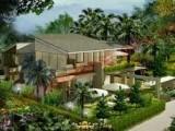 Thiết kế sân vườn theo phong thủy ứng dụng là chọn phương vị thích đáng sẽ hình thành được trường khí tốt,