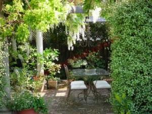 Bài trí sân vườn cho nhà đẹp