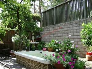 Thiết kế sân vườn tạo điểm nhấn cho nhà đẹp