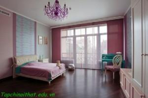 Phòng ngủ mơ mộng cho bạn gái