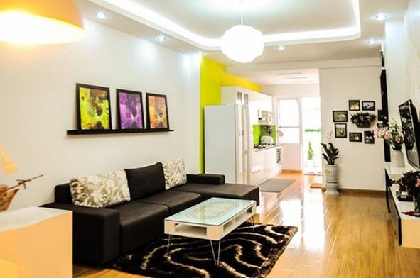 Thiết kế nội thất cho căn hộ chung cư nhỏ