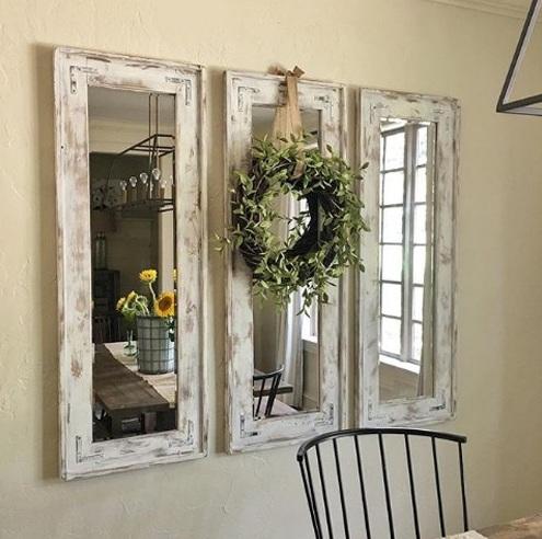 Tránh đặt gương ở 8 vị trí này trong nhà
