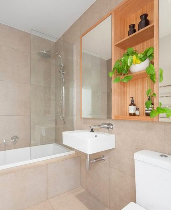 Thiết kế phòng tắm có diện tích nhỏ