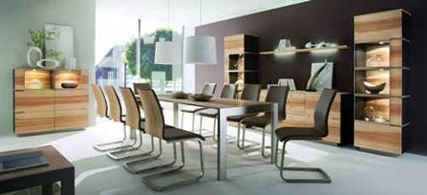 Nội thất phòng ăn chất liệu gỗ giá rẻ