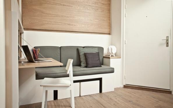 Bài trí nội thất căn hộ diện tích nhỏ