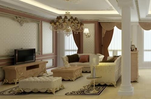 Những căn hộ đẹp nhất ở Việt Nam được dát vàng