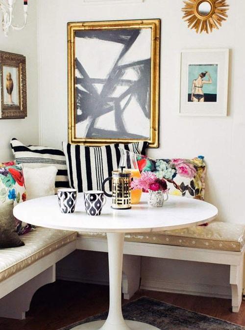 Ý tưởng thiết kế nội thất phòng ăn nhỏ