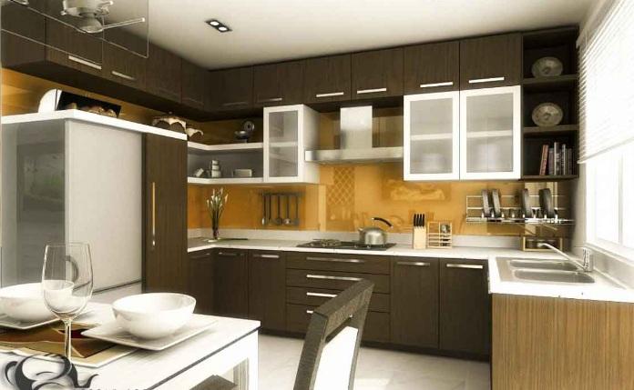 Thiết kế nội thất phòng ăn và bếp